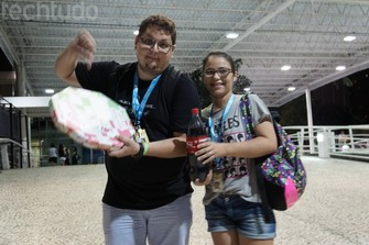 Campuseiros reclamam dos preços abusivos dos alimentos na feira (Foto: TechTudo/Melissa Cruz)