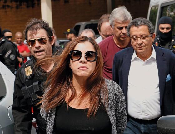 O casal Mônica Moura e João Santana (Foto:  Cassiano Rosário/Futura Press)