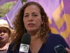 Jandira Feghali promete priorizar orçamento na área da saúde