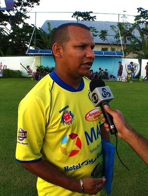 Darlan Barroso treinador  (Foto: Adeilson Albuquerque/Globoesporte.com)