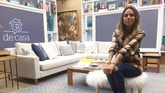 Karina Milanesi ensina a fazer banco de pelúcia no 'É de Casa'