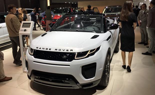 Range Rover Evoque conversível também estará no salão (Foto: Luciana de Oliveira/G1)