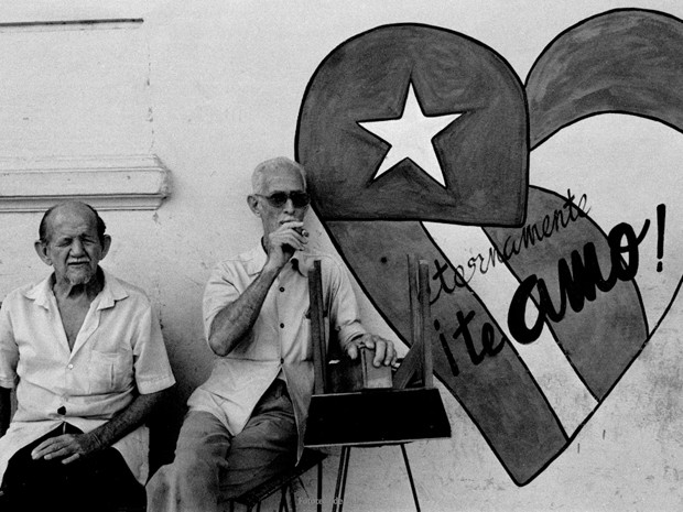 Fotografia da exposição de fotografia 'Cuba Imagen Y Posibilidade' (Foto: Humberto Mayol)