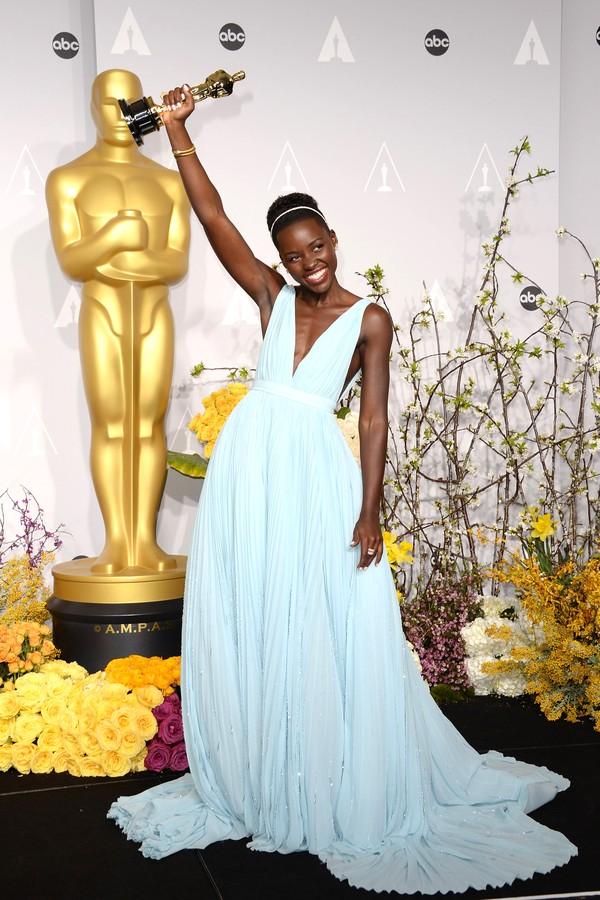 """Lupita Nyong'o ganhou o Oscar de Melhor Atriz Coadjuvante por """"12 Anos de Escravidão"""" (Foto: Getty Images)"""