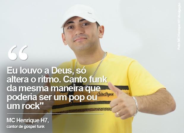 Mc Henrique H7 é de Volta Redonda, no interior do estado do Rio de Janeiro (Foto: MC Henrique H7/ Divulgação)