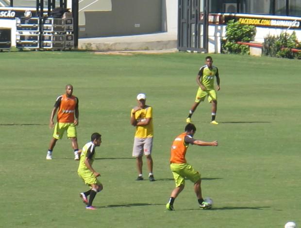 treino Vasco (Foto: Fred Huber)