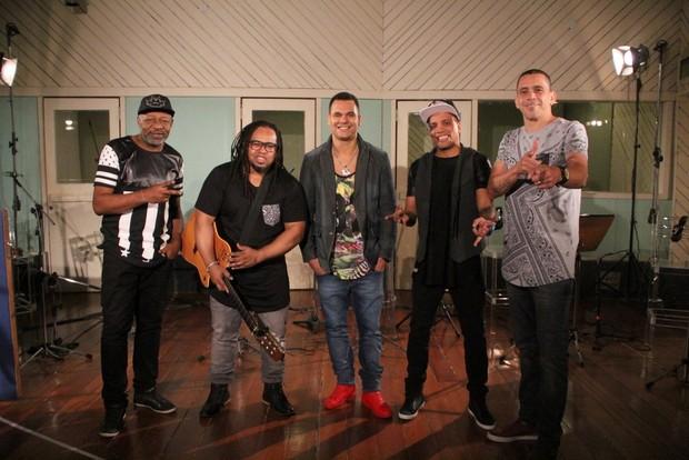 Grupo Revelação (Foto: Rodrigo dos Anjos)