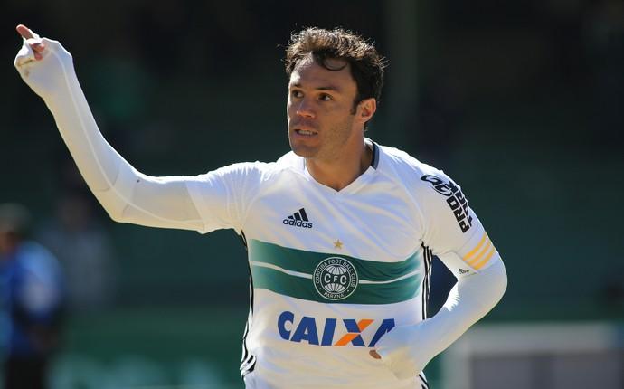 Kleber Coritiba (Foto: Giuliano Gomes/PR Press)