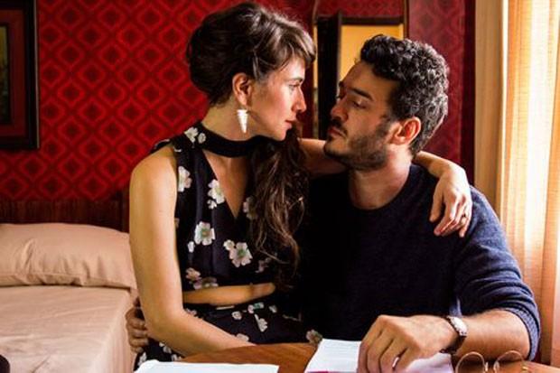 Marcos Veras e Uyara Torrente em cena de 'O filho eterno' (Foto: Rosano Mauro/Divulgação)