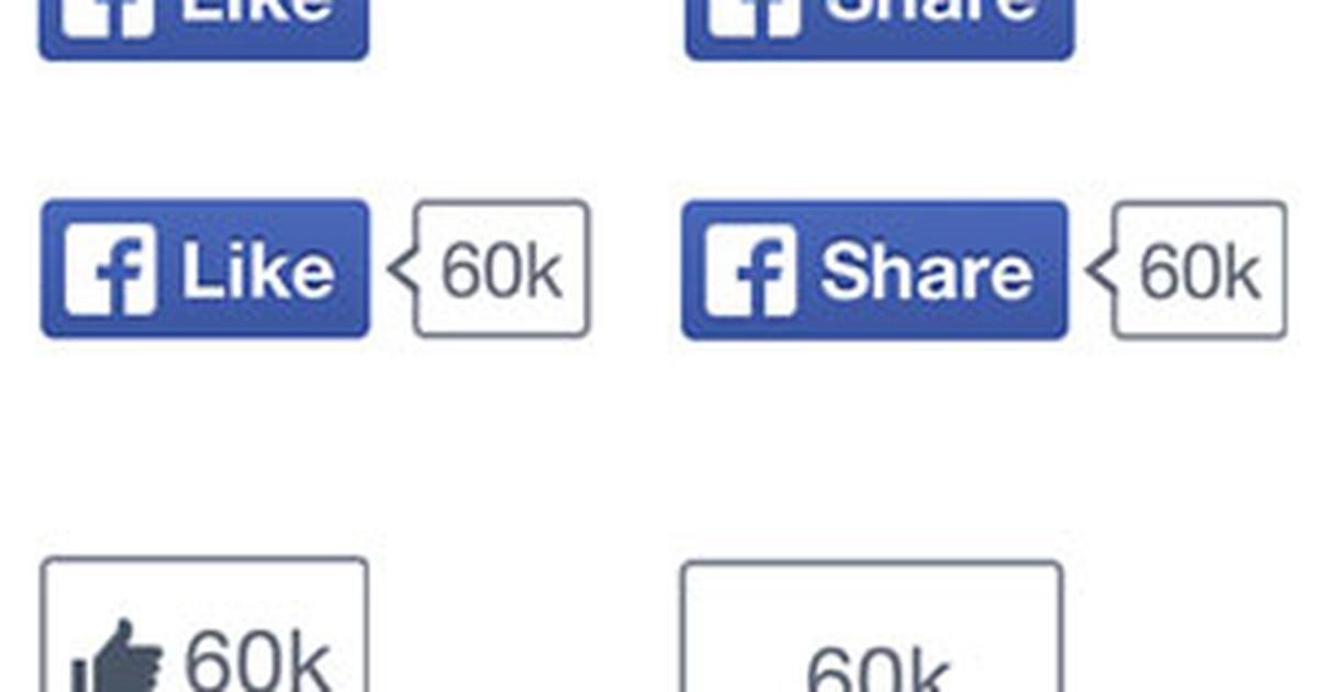 Facebook retira sinal de positivo do botão 'curtir', símbolo da rede social