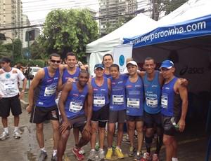 Grupo de corrida da Rocinha (Foto: Patricia Palhares / Globoesporte.com)
