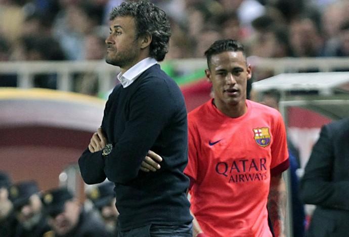 Neymar Luis Enrique Barcelona (Foto: EFE)