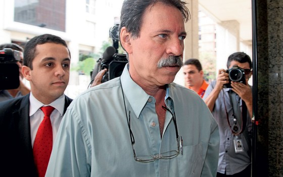 Delubio Soares (Centro), ex-tesoureiro do PT (Foto:  Joel Rodrigues/Folhapress)
