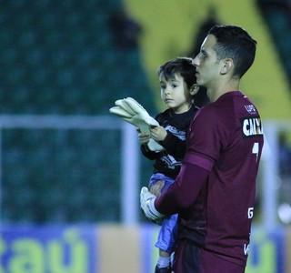 Gatito Figueirense (Foto: Luiz Henrique/FFC)