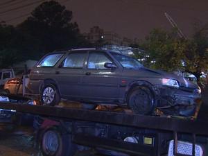Motorista pagou fiança e foi solto (Foto: Reprodução/RBS TV)