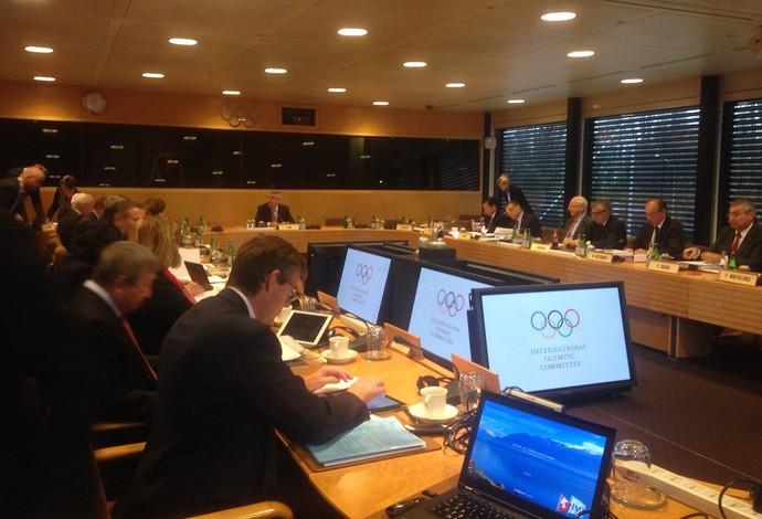 Reunião do Comitê Executivo do COI  Olimpíadas (Foto: Claudia Garcia)