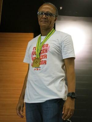 Jayme de Almeida flamengo medalha coletiva (Foto: Edgard Maciel de Sa)