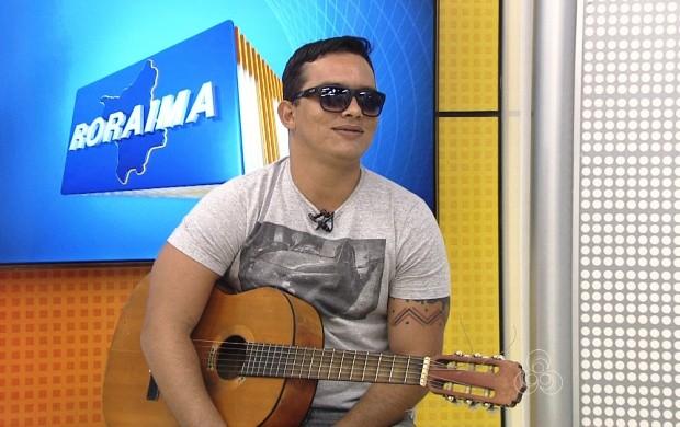 Artista conta com iniciou a carreira (Foto: Roraima TV)