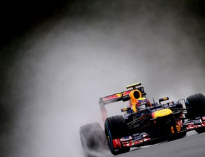 mark webber rbr gp da bélgica Spa-Francorchamps (Foto: Agência Getty Images)