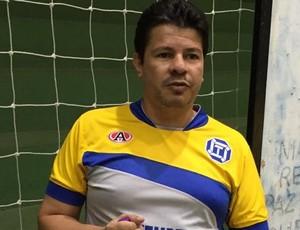 Flavinho Cavalcante, técnido do futsal de Dracena (Foto: Ronaldo Nascimento / GloboEsporte.com)