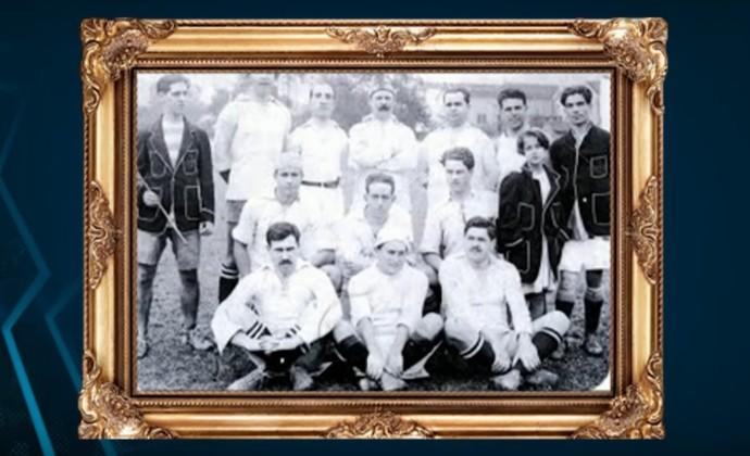 Vasco 1916 (Foto: Reprodução / SporTV)