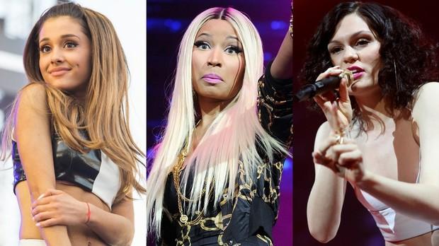 Jessie J, Ariana Grande e Nicki Minaj (Foto: Divulgao)