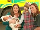 Criança liga para a emergência e salva a mãe na Inglaterra