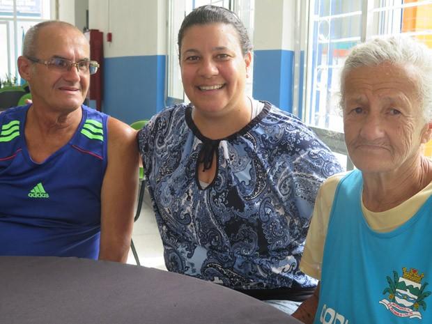 Ivete uniu os irmãos Neusa e Sérgio (Foto: Mariane Rossi/G1)