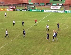 Rio Branco-ES x Espírito Santo FC, Capixaba 2013 (Foto: Bruno Marques/Globoesporte.com)