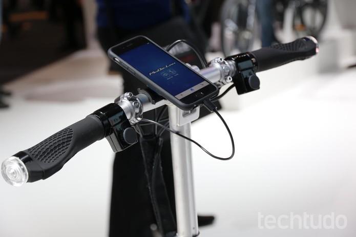 Bicicleta inteligente da Ford (Foto:Isadora Diaz/TechTudo)
