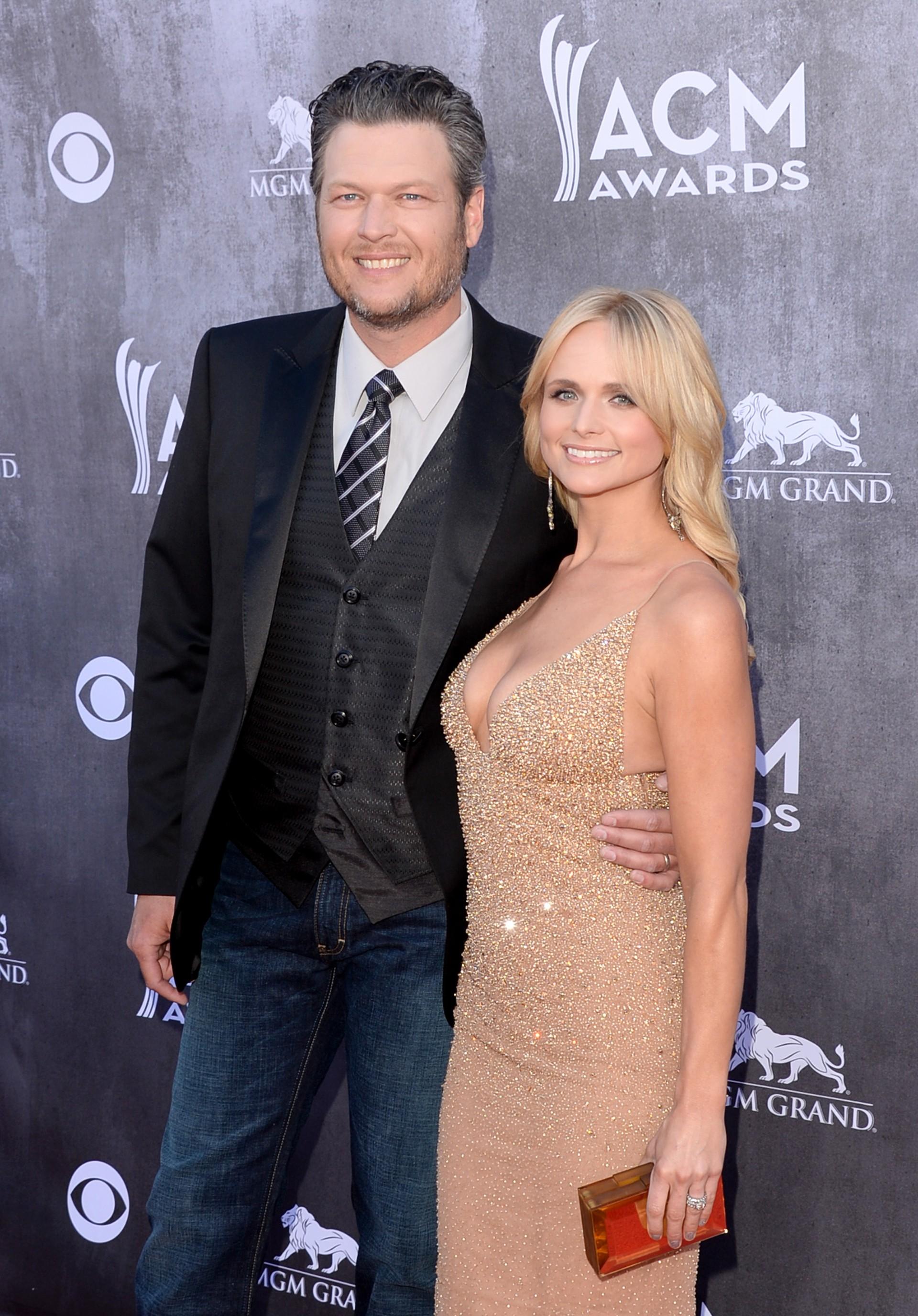 Os cantores country tomam conta dos charts da Billboard. Casaram-se em 14 de Maio de 2011. (Foto: Getty Images)
