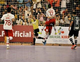 Sorocaba x Corinthians, Liga Paulista (Foto: Divulgação/ Sorocaba Futsal)
