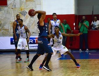 São José Basquete x Caxias Basquete NBB (Foto: Danilo Sardinha/GloboEsporte.com)