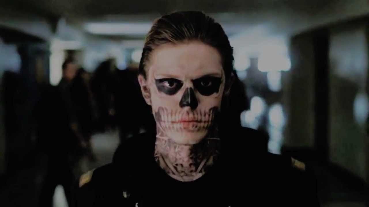 Evan Peters como Tate na primeira temporada de 'American Horror Story' (Foto: Divulgação)