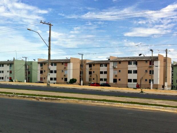 Residencial Viver Melhor é considerado o maior conjunto habitacional na faixa I do programa Minha Casa Minha Vida do país (Foto: Adneison Severiano/G1 AM)