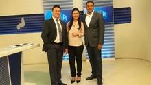 Allan Garcia se despede e Marcella  Priscilla reassume o 'Bom Dia Piauí' (Rede Clube)