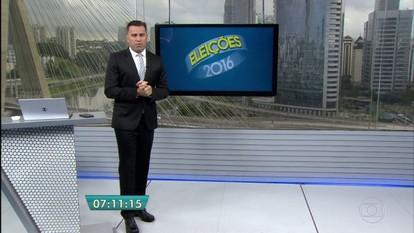 Ibope divulga pesquisa de intenção de voto para a Prefeitura de São Paulo