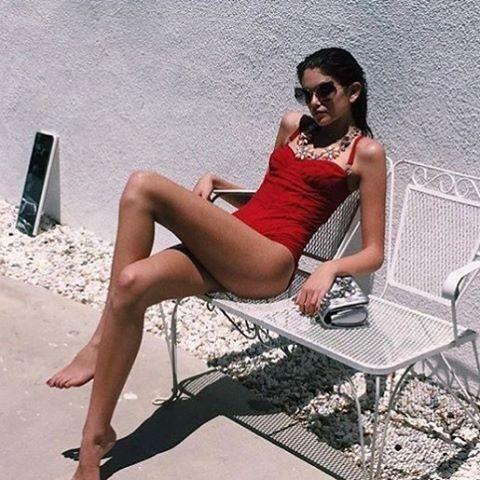 Kaia Gerber (Foto: Reprodução/ Instagram)