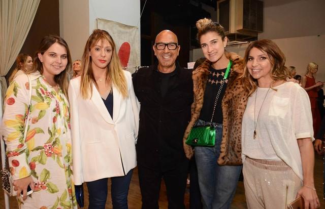 Da esquerda para a direita: Vivian Sotocórno, Camila Garcia, Raphael Sahyoun, Barbara Migliori e Sandra de Souza Silva (Foto: Rodrigo Zorzi e Marcia Fasoli)