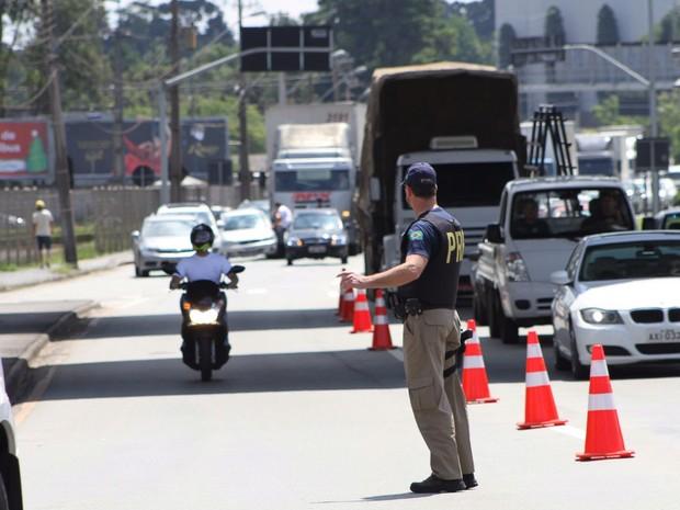 Operação de fiscalização foi realizada entre segunda-feira (28) e este domingo (3)  (Foto: Divulgação / PRF )