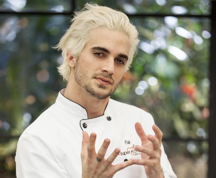 Fiuk - Super Chef Celebridades 2015 (Foto: Pedro Curi / TV Globo)