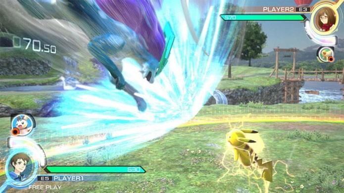 Pokkén Tournament leva Pokémon aos jogos de luta (Foto: Divulgação)
