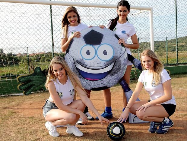 musas Globolinha mascote times (Foto: Globoesporte.com)