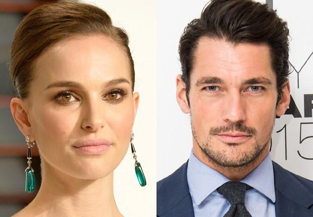 Natalie Portman y David Gandy