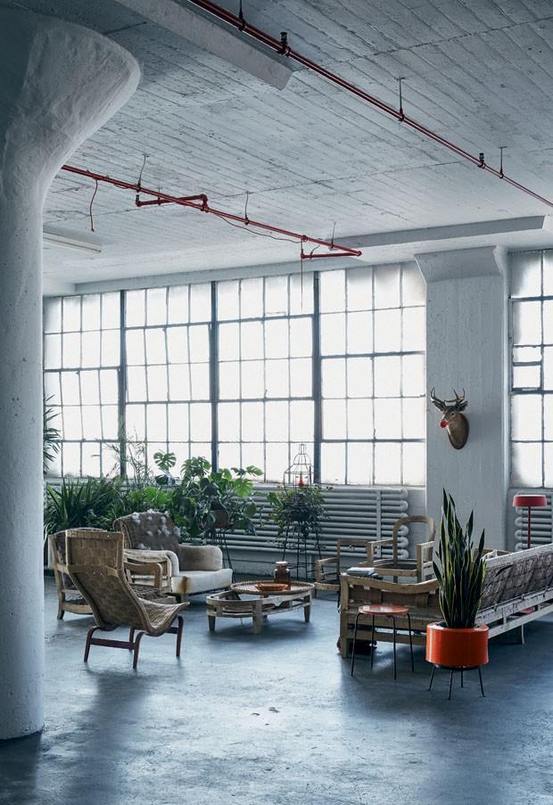 O loft industrial da stylist de nova york casa vogue apartamentos - Apartamentos casa carin ...