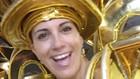 Rosana Valle na folia do carnaval da Grande Rio (Arquivo pessoal)