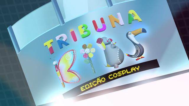 Tribuna Kids - Edição Cosplay (Foto: TV Tribuna)