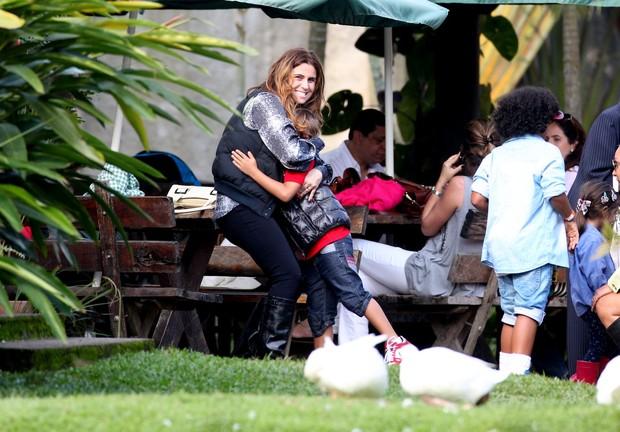 Aniversario de Pietro filho de Giovanna Antonelli e Murilo Benicio (Foto: Leo Marinho / AgNews)