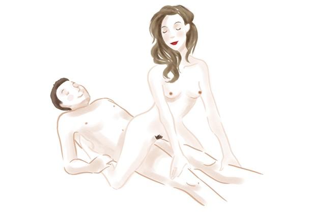 Resultado de imagem para Posições sexuais mais prazerosas pras mulheres