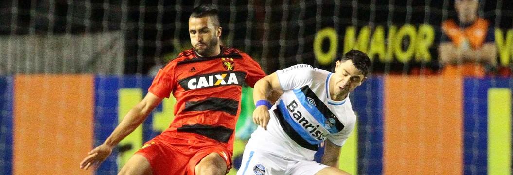 Grêmio perde por 4 a 2 para  o Sport na Ilha do Retiro (Marlon Costa / Pernambuco Press)
